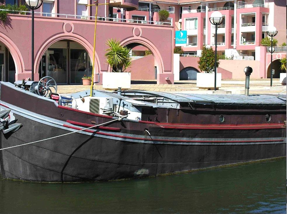 Les bureaux de Fluvial sur le port de Lattes (Photo MT)