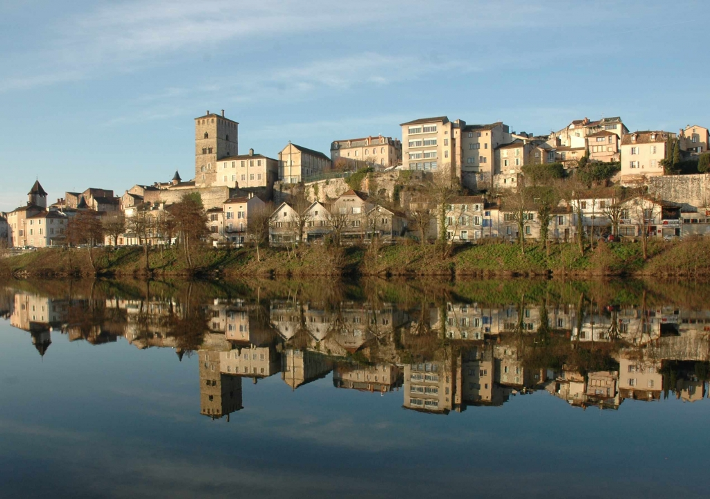 Cahors - Lot amont (Photo PHD)