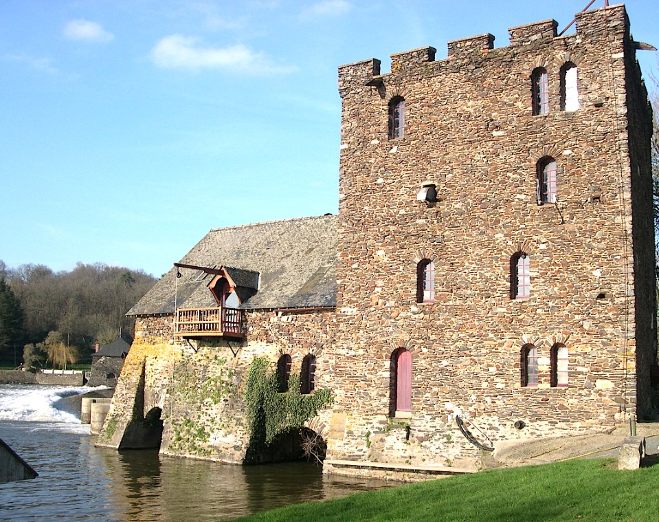 Moulin de Chenillé - Mayenne (Photo Maine Anjou Rivière)