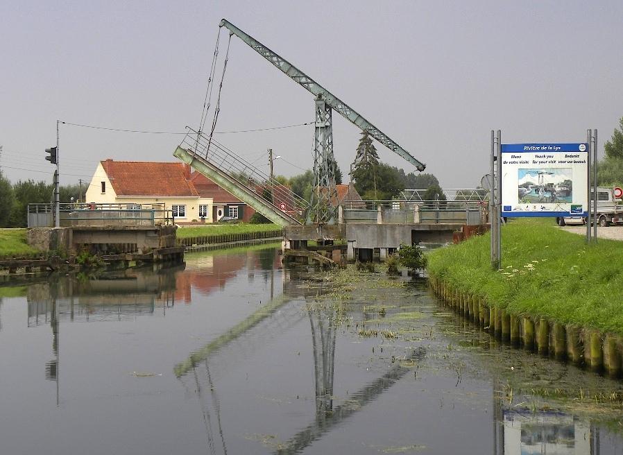 Pont-levis de Thiennes - Lys (Photo PJL)