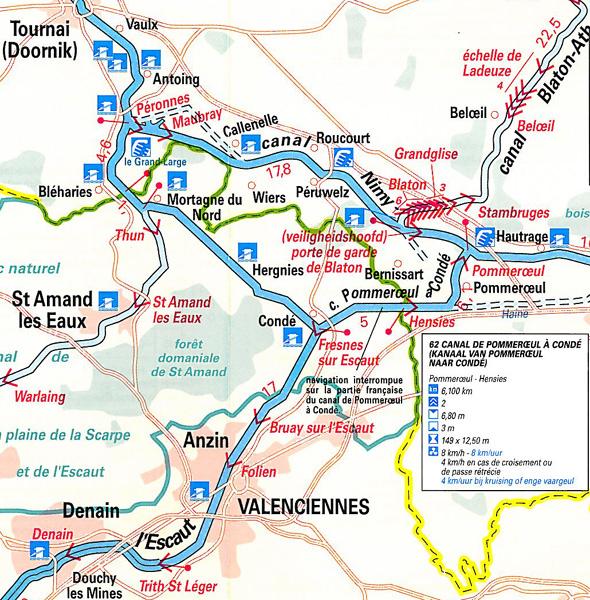 Carte Belgique Canaux.Revue Fluvial Canal Franco Belge Vnf Annonce La Reouverture