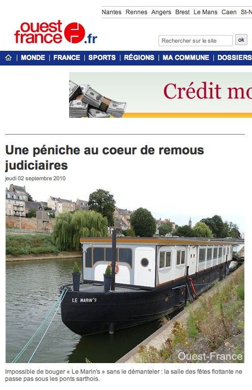 OUEST-FRANCE (02/09/2010)
