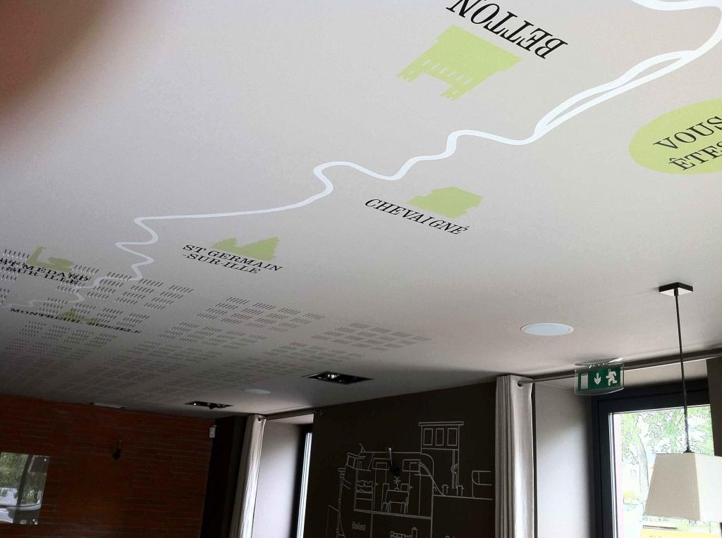 Revue fluvial restaurant fluvial dupont dupont le bistronomique de betton - Plafond du livret a la poste ...