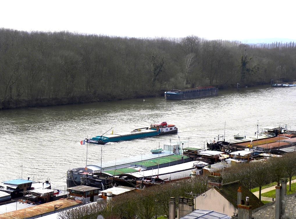 Quai de Seine à Conflans-Sainte-Honorine (Photo PJL)