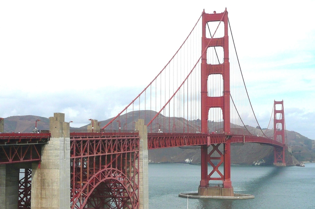Le Golden Gate Bridge de San Francisco (Photo PJL)