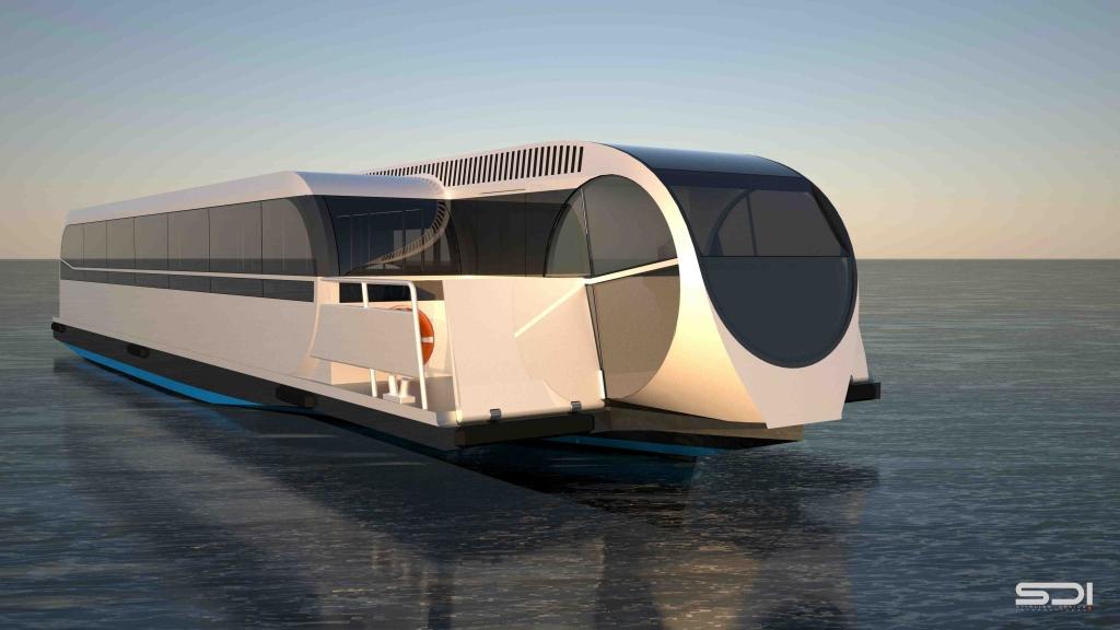 revue fluvial bateau bus calais pr pare ses berges et ses. Black Bedroom Furniture Sets. Home Design Ideas