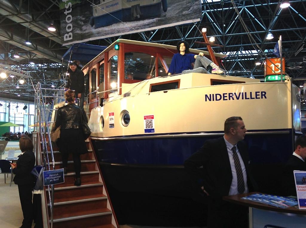 Revue fluvial 360 wassersport le boot de d sseldorf a fait le tour complet du nautisme - Salon nautique dusseldorf ...