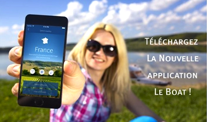 L'application Le Boat pour mobiles