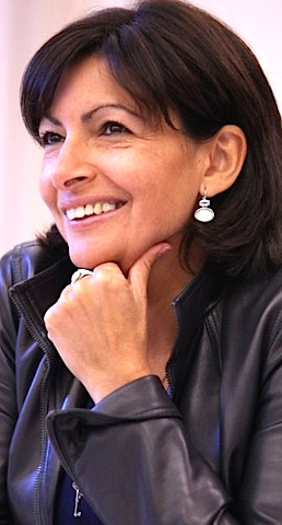 Anne Hidalgo - maire de Paris (Photo France-Bleu)