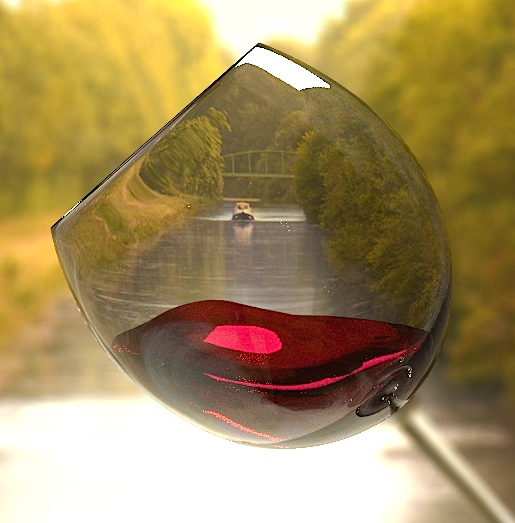 In vino... (Photo Alizarine)