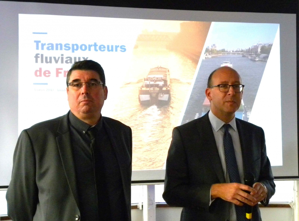 Les co-présidents de TFF - M.Dourlent (CNBA) et D.Léandri (CAF) (Photo PJL)