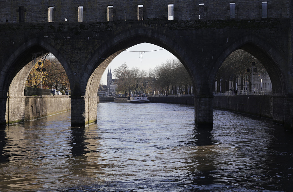 Le pont des Trous, à Tournai (Photo D.R.)