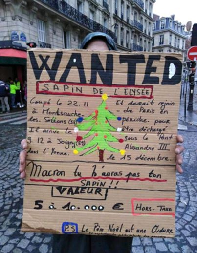 "Le panneau ""Wanted"" (Photo D.R.)"