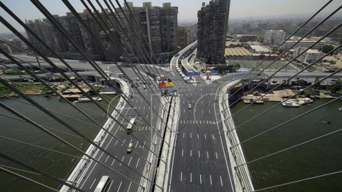 Egypte : le plus large pont suspendu du monde a été inauguré (Photo D.R.)