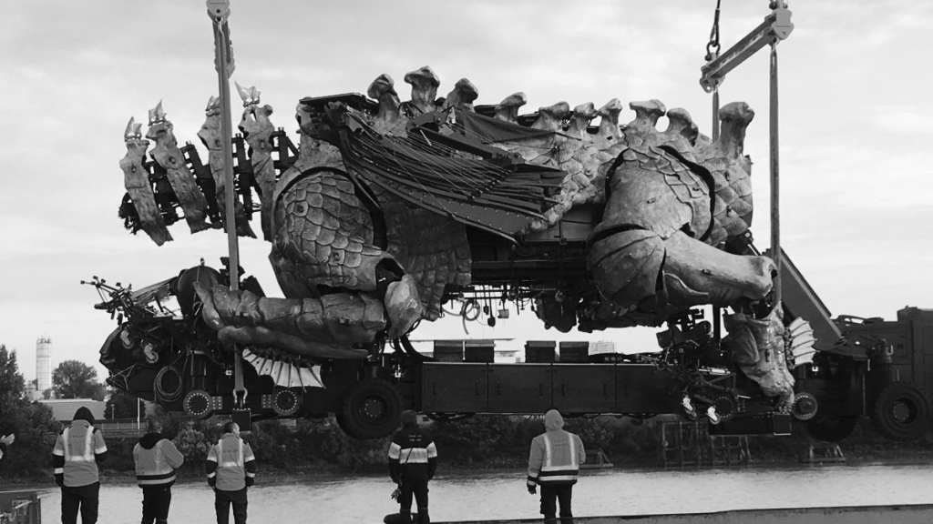 Le Dragon de Calais (Photo O.Quentin France 3 Nantes)
