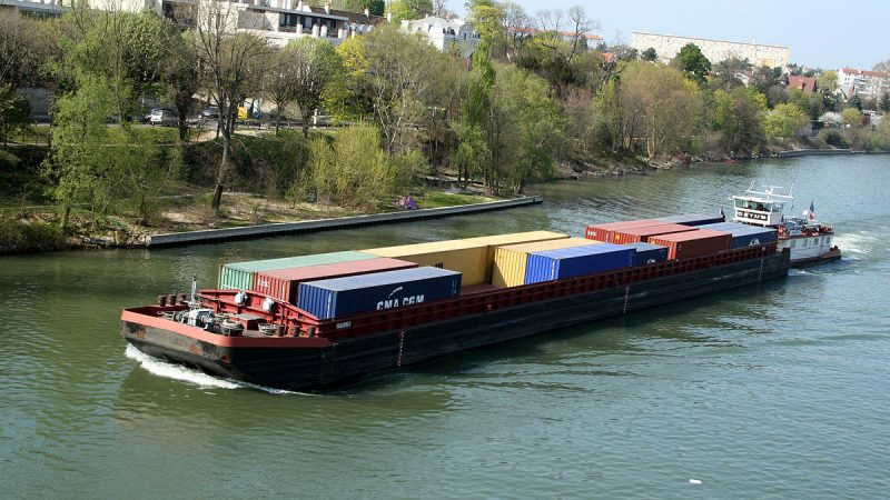 Le transport fluvial a le vent en poupe (Photo D.R.)