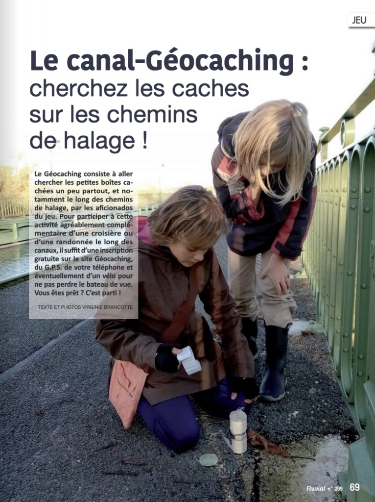 Le canal-geocaching (Fluvial n°299)