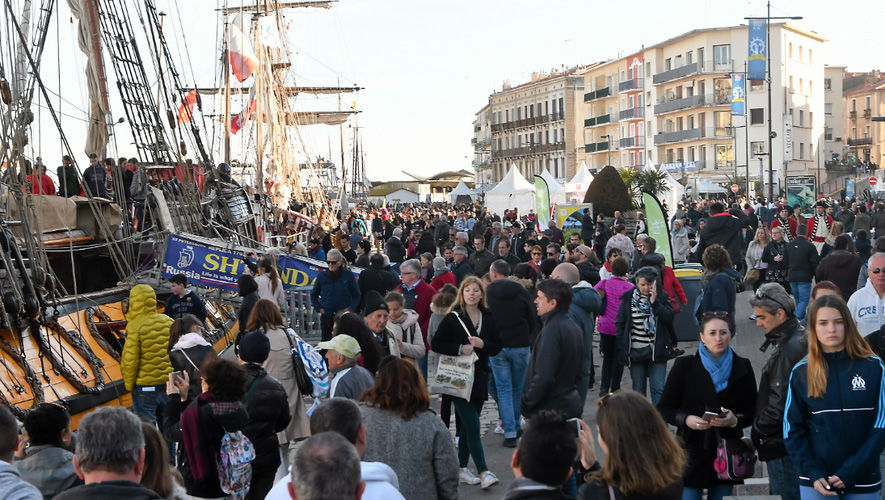 Escale à Sète, c'était 300 000 personnes attendues du 7 au 13 avril. (Photo D.R.)